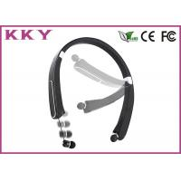 Wholesale Internal Microphone Foldable Bluetooth Headphones With Neckband / Sport Style from china suppliers