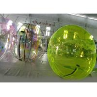 Wholesale Green Water Walking Ball , Inflatable Water Ball For Amusement Park from china suppliers