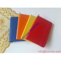 Wholesale Bulk Cheap Handmade Bound Gold Edge Leather Notebook from china suppliers