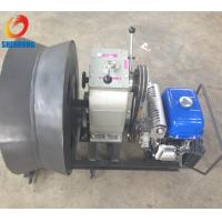 Wholesale Gas Powered Winch 3Ton Cable Drum Winch Threading Machine Yamaha Engine for pulling hoisting from china suppliers