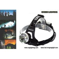 Wholesale 500 meters long lighting distance IP65 water-proof rechargeable led headlamp with 189g light weight from china suppliers