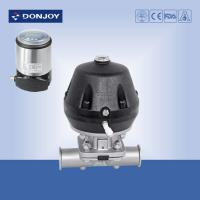 Quality SS 316L Direct way Clamp Pnuematic Sanitary Diaphragm Valve with CE/3A,FDA Certificate for sale