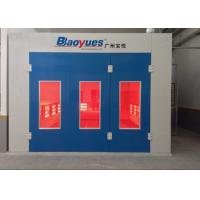 Buy cheap Car Paint Spray Booth Centrifugal Fan Infrared Heating Separate Control from wholesalers