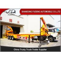 Wholesale 37 / 42 Tons Side Loader Trailer , 40ft Container Carrrying  Side Lifter Truck  from china suppliers