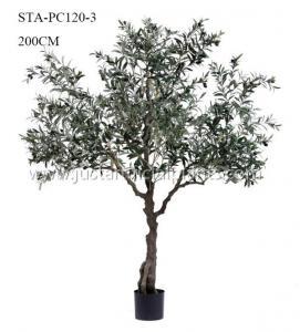 Plants   Artificial Olive Tree Premium Foliage Vibrant Color 200CM No Trimming
