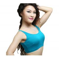 Wholesale Comfortable Colorful Cotton Belly Dancing Bra Tops For Dance Stage from china suppliers