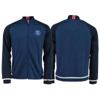 Wholesale Paris Saint Germain Blue Soccer Jacket Football Coat Custom Sports Uniform PSG from china suppliers