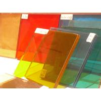 Wholesale Light Fastness 8mm+1.14PVB+8mm Colored Laminated Tempered Glass With Ce & Iso Certificate from china suppliers