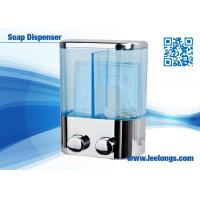 Wholesale Chromed Plated Liquid Hand Soap Dispenser Double Tank 500ml from china suppliers