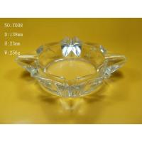 Wholesale Special Shape Clear Glass Ashtray, Home Use from china suppliers