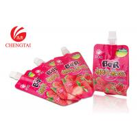 Wholesale Biodegradable Leakproof Stand Up Pouch With Spout / Liquid Bag from china suppliers