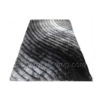 Wholesale Modern / Concise 3D Polyester Shaggy Rug, Contemporary Area Rugs For Bedside Area from china suppliers
