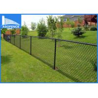 Wholesale Commercial Green Garden Chain Link Fence Rolls Diamond Hole Shape from china suppliers