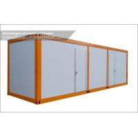 Wholesale Modular Steel Framed 40ft Container House / Steel Storage Sheds with 50mm EPS Roof from china suppliers