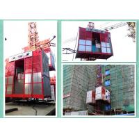 Quality 1 Ton Capacity Building Material Lift For Construction Site For Bridges / Towers for sale