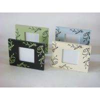 "Wholesale 3x3"" Silk Printing Contemporary Photo Frames Personalised Wooden Photo Frame from china suppliers"