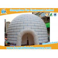 Wholesale Huge PVC Tarpaulin Inflatable Air Tent Globe Dome Tent For Party , Event from china suppliers