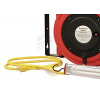 Wholesale Unique Socket Lock Electric Cable Reel 50'' With 11W Fluorescent Lamp from china suppliers