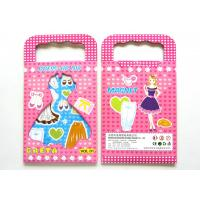 Wholesale Childrens Popular Make Your Own Magnetic Dress Up with Synthetic Paper, EVA, Cardboard from china suppliers