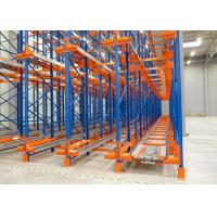 Wholesale Selective High Density Radio Shuttle Racking System Anti - Corrosion Heavy Duty from china suppliers