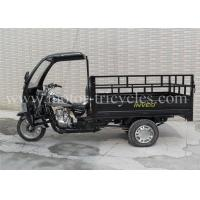 Wholesale Three Wheel Cargo 200cc Motorcycle Trike 5 Speed With Front Cabin from china suppliers