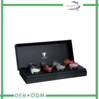 Wholesale Black Texture Paper Candle Packaging Boxes from china suppliers