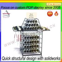 Wholesale Shopping mall metal wire display rack for wine from china suppliers