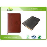 Wholesale A4 / B5 / A5 Custom Embossed Notebook , Recycled Materials Personalised Leather Notebook  from china suppliers