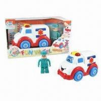 Wholesale B/O Funny Touchsensitive Ambulance Toy Cars with Figurine from china suppliers