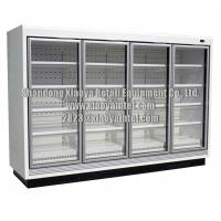 Wholesale Commercial Super Market Glass Door Grocery Store Freezers CE Certificate from china suppliers