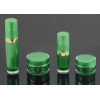 Wholesale Pump Head Pressed Cosmetic Jars And Bottles / Empty Makeup Jars from china suppliers