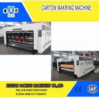 Wholesale High Precision Carton Making Machine / Paper Die Cutting Machines , 2800mm Inboard Width from china suppliers