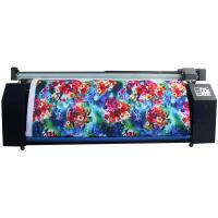 Wholesale Dual CMYK Sublimation Ink Digital Fabric Printing Machine To Make Banner Flag from china suppliers