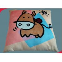 Wholesale Children Cow Custom Printed Pillows , living room modern throw pillows from china suppliers