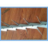 China Hot dipped galvanized and PVC coated black medium wall spikes on sale