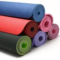 Wholesale non-toxic TPE yoga mats wholesale(pvc free) from china suppliers