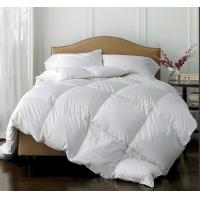 Wholesale Modern Washed 80% White Duck Down Feather Quilt  Winter Breathable Warm Comforter from china suppliers