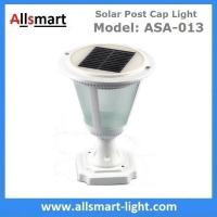 Wholesale Aluminum Black or White Westinghouse Solar Lamp Post Caps Solar LED Garden Pillar Lights Solar Landscape Lights from china suppliers