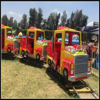 Buy cheap Henan Weiyuan Machinery CO.,LTD Supply 16 seats  Amusement Park Best Train Electric Truck train For Kids from wholesalers