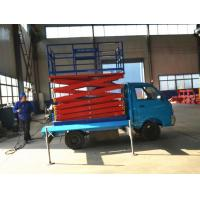 Wholesale 4m -18m truck mounted hydraulic scissor lift with load 300kg - 1000kg Capacity from china suppliers