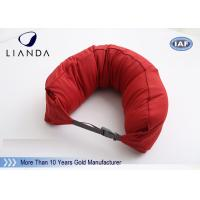 Wholesale Custom U Shaped Memory Foam Pillows For Travel / Airplane , TUV BS5852 Certification from china suppliers