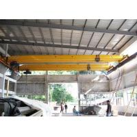 Wholesale Single Beam 20 Ton Overhead Crane Safety , Electric Workstation Bridge Crane from china suppliers