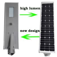 Wholesale Hot fashion all in one solar led street light 60W from china suppliers