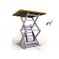 Wholesale Double Forks Fixed Scissor Lift 900 × 900mm Platform Hydraulic Cargo Lift from china suppliers