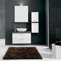 Wholesale Modern bathroom cabinet wash basin C-906A from china suppliers