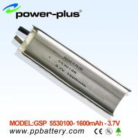 Wholesale High Capacity Li-Polymer battery 5530100 1600mAh 3.7V from china suppliers