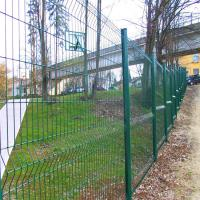 Wholesale 2m Height weld wire mesh fence fabrication works steel  welded fence from china suppliers
