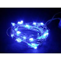 Wholesale Blue raindrop 3v battery operated led light 20leds from china suppliers
