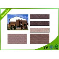 Wholesale Strong Bonding Strength flexible wall tiles , Lightweight Exterior Wall Tile from china suppliers