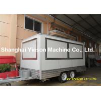 Wholesale Portable Durable Commercial Kitchen Trailers Mobile Fast Food  Trailers from china suppliers